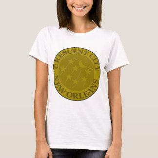 Crescent City Water Meter Lid T-Shirt