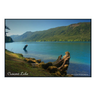 Crescent Lake Poster