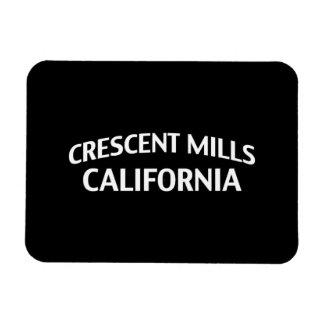 Crescent Mills California Magnet
