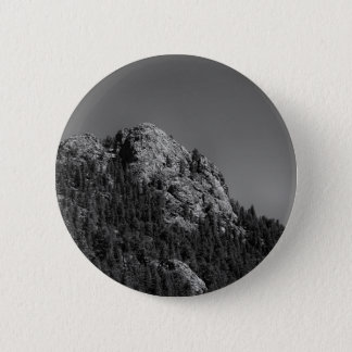 Crescent Moon and Buffalo Rock 2 Inch Round Button