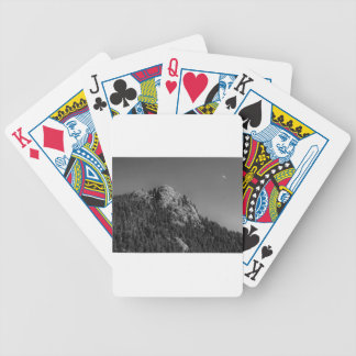 Crescent Moon and Buffalo Rock Bicycle Playing Cards
