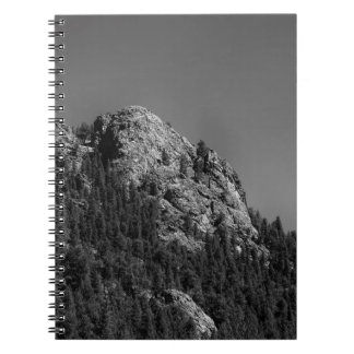 Crescent Moon and Buffalo Rock Notebook