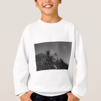 Crescent Moon and Buffalo Rock Sweatshirt