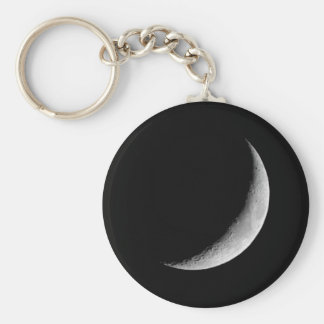 Crescent Moon Keychain
