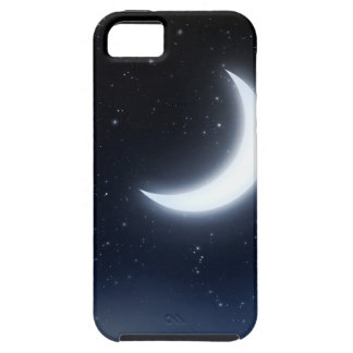 Crescent Moon over Starry Sky2 Case For The iPhone 5