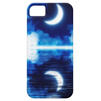 Crescent Moon over Starry Sky Case For The iPhone 5