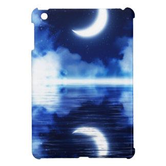 Crescent Moon over Starry Sky iPad Mini Case