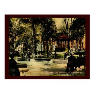 Crescent Park, Schenectady, NY c1910 Vintage Postcard