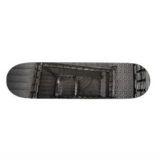 Crescent Stairwell Grayscale Skateboard Decks