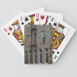 Crescent Wall Poker Deck