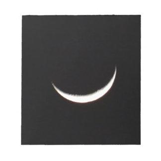 Crescent Winter Moon Notepads