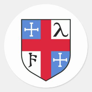 Crest Classic Round Sticker