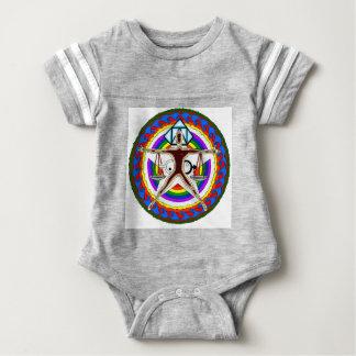 Crest Design Baby Bodysuit