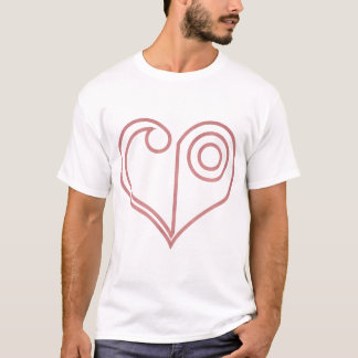 Crest of LOVE- LOVE SYMBOL T-Shirt