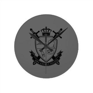 Crest Wall Clock