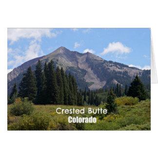 Crested Butte, Colorado Card