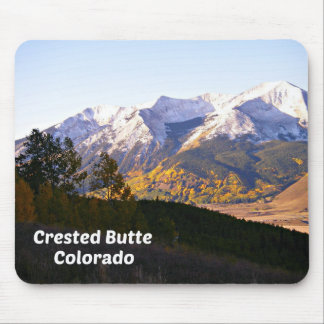 Crested Butte, Colorado Mouse Pad