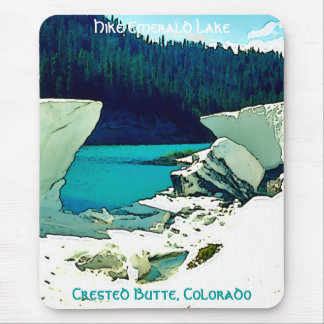 Crested Butte Vintage Style Mouse Pad