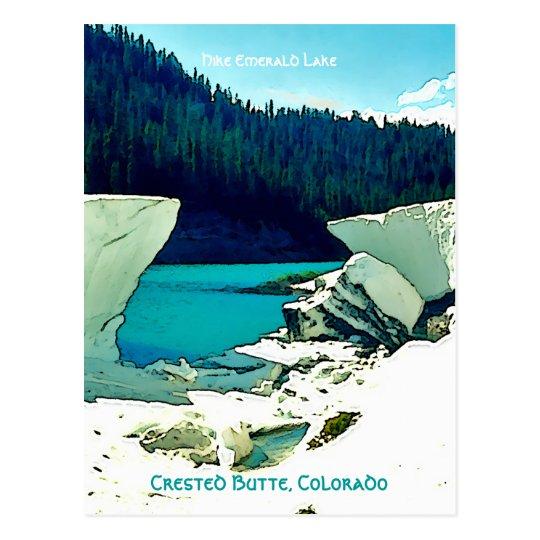 Crested Butte Vintage Style Postcard