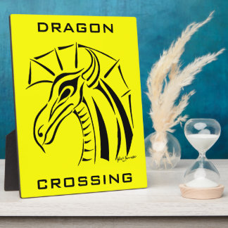 Crested Dragon Plaque