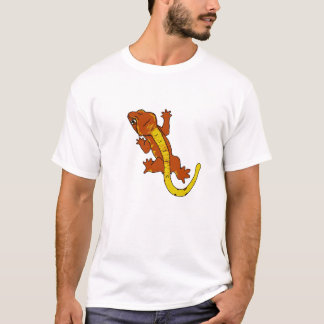 Crested Gecko T-Shirt (orange)