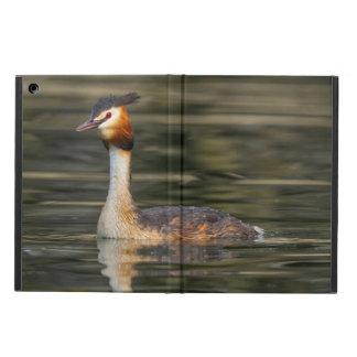 Crested grebe, podiceps cristatus, duck iPad air case