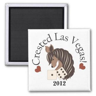 Crested Las Vegas Magnet - Exclusive design
