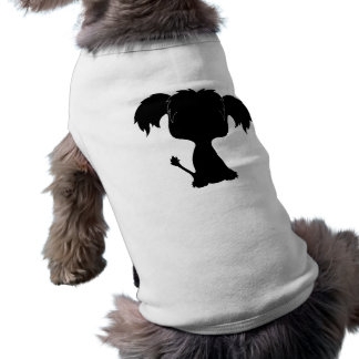 Crested Pup tshirt Dog Clothes