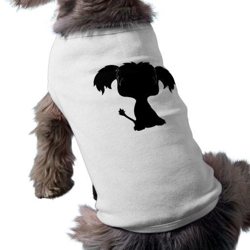 Crested Pup tshirt Dog Tee