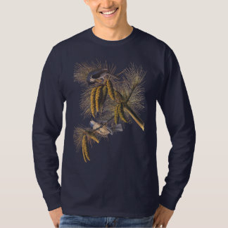 Crested Titmouse Audubon Bird T-Shirt