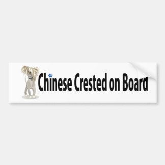 Crestedcrazy bumper sticker