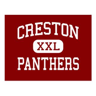 Creston - Panthers - Senior - Creston Iowa Postcard