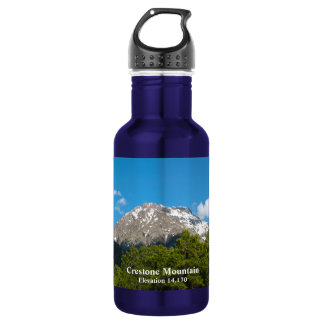 Crestone Colorado memorabilia * Crestone Mountain 532 Ml Water Bottle