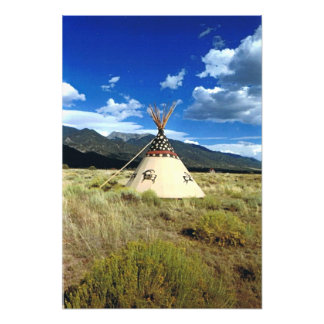 Crestone Colorado Native American Picture Photo Print