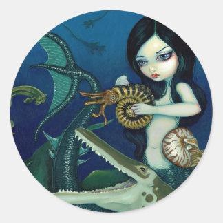 """Cretaceous Mermaid"" Sticker"