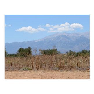 Cretan Landscape Postcard