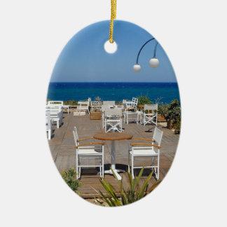 Crete 4 ceramic ornament