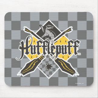 Crête de Harry Potter | Hufflepuff Quidditch Tapis De Souris