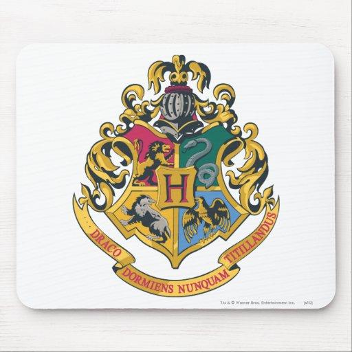 Crête de Hogwarts polychrome Tapis De Souris