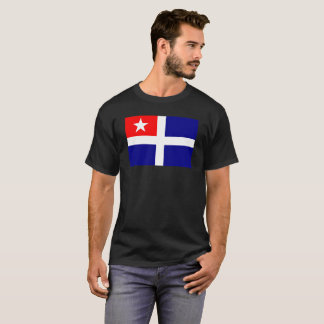 crete region flag greece symbol T-Shirt