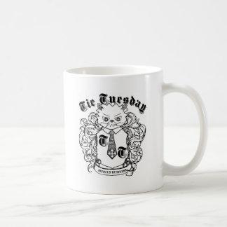 Crête sérieuse d'affaires mug blanc