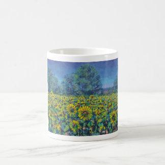 Creuse sunflowers coffee mug