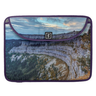 Creux du Van rocky cirque, Switzerland Sleeve For MacBooks
