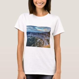 Creux du Van rocky cirque, Switzerland T-Shirt