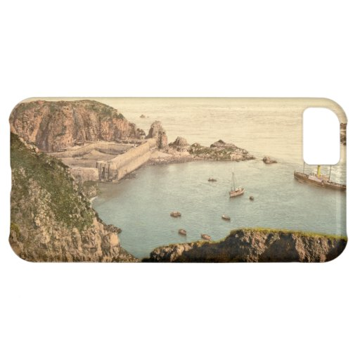 Creux Harbour, Sark, Channel Islands, England iPhone 5C Cover