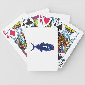 Crevalle Jack Retro Bicycle Playing Cards