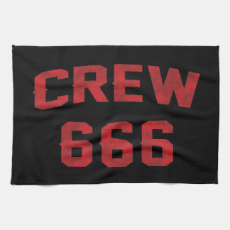 Crew 666 kitchen towel