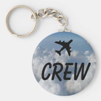 Crew Clouds Keychain