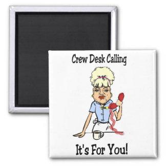 Crew Dest Magnet