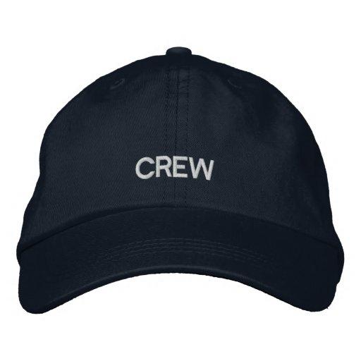Crew Embroidered Adjustable Cap Baseball Cap